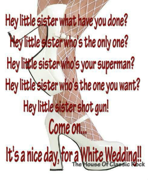 Billy Idol White Wedding This Song