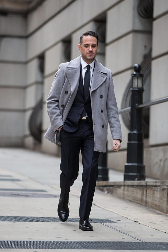 Dark Navy Suit Classic Business Outfit Idea Lord
