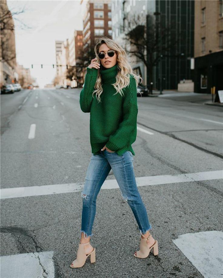 Karima Turtleneck Knit Sweater