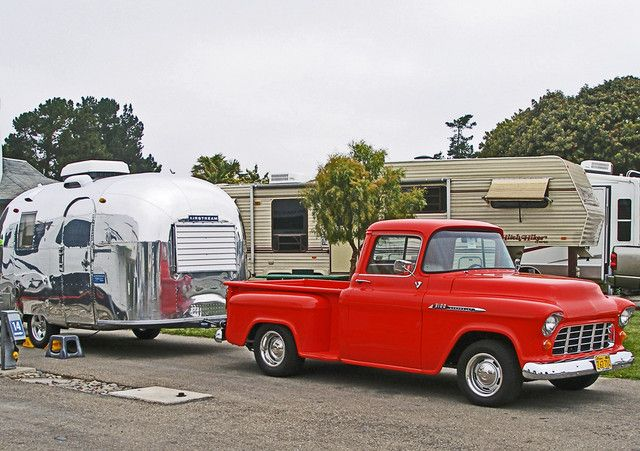 1966 airstream caravel 1956 chevy truck tom malone garden grove california cars bikes. Black Bedroom Furniture Sets. Home Design Ideas