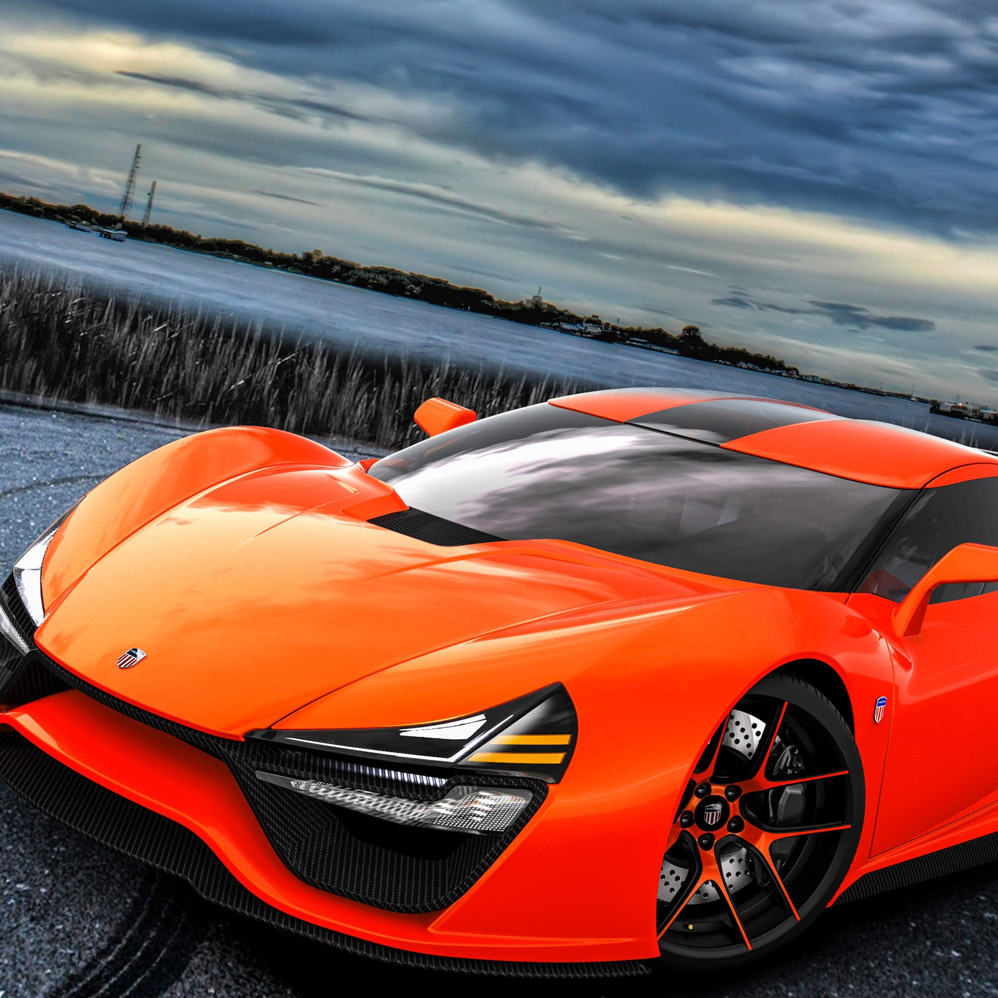 The 2 000 Hp American Made Supercar Trion New Sports Cars Super Cars