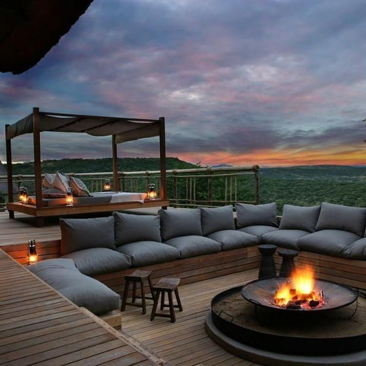 90 Cozy And Relaxing Rooftop Terrace Design
