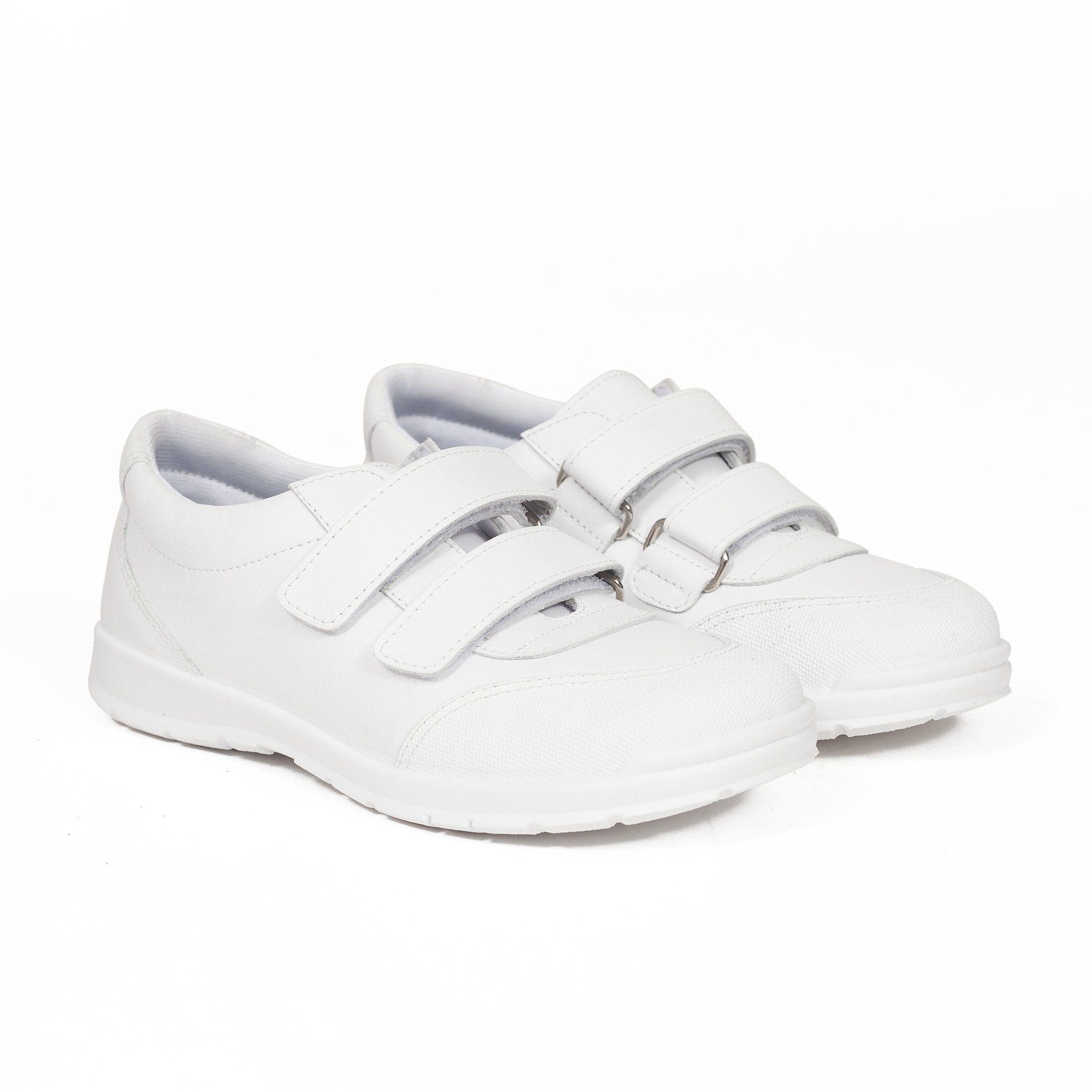 Zapatos Colegiales niños deportivos escolares Piel Lavable