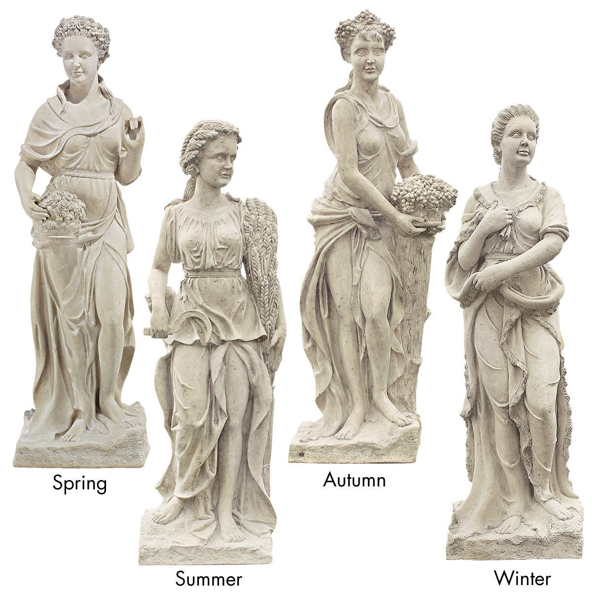 Goddesses of the Four Seasons Spring Statue