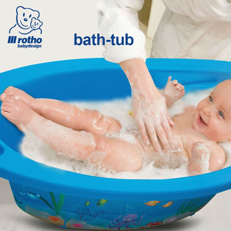 Rotho Babydesign 2017 Baby Bathtub Seat Bathing Germany Infant Baby Bath  Seat Newborn Baby Tub Bath