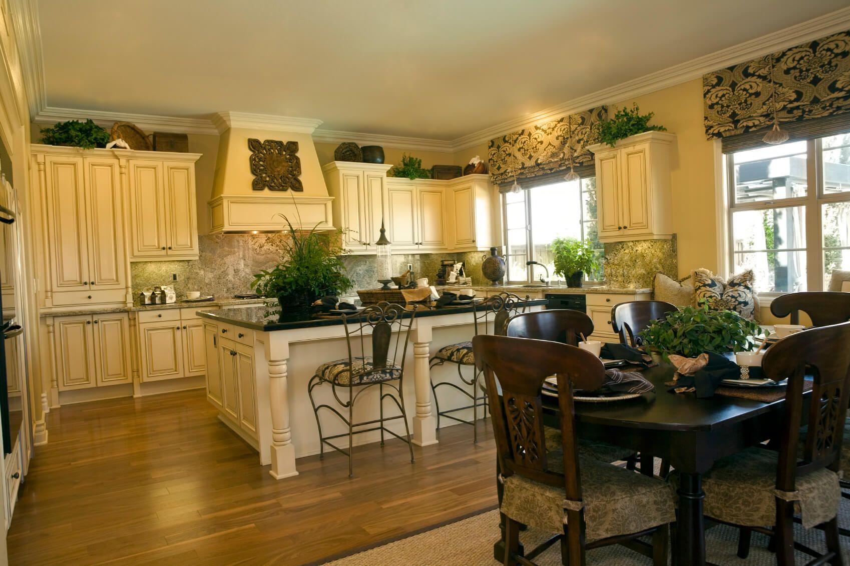 41 white kitchen interior design decor ideas pictures Kitchen Table Only Park Playground Table