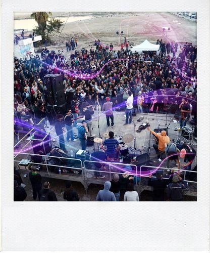 Concert Gultrah Sound System Vertige Graffik Event / Dec 2012 - Tunis Association Open Art Tunisia #street_art #tunisia #urban_art #event #art