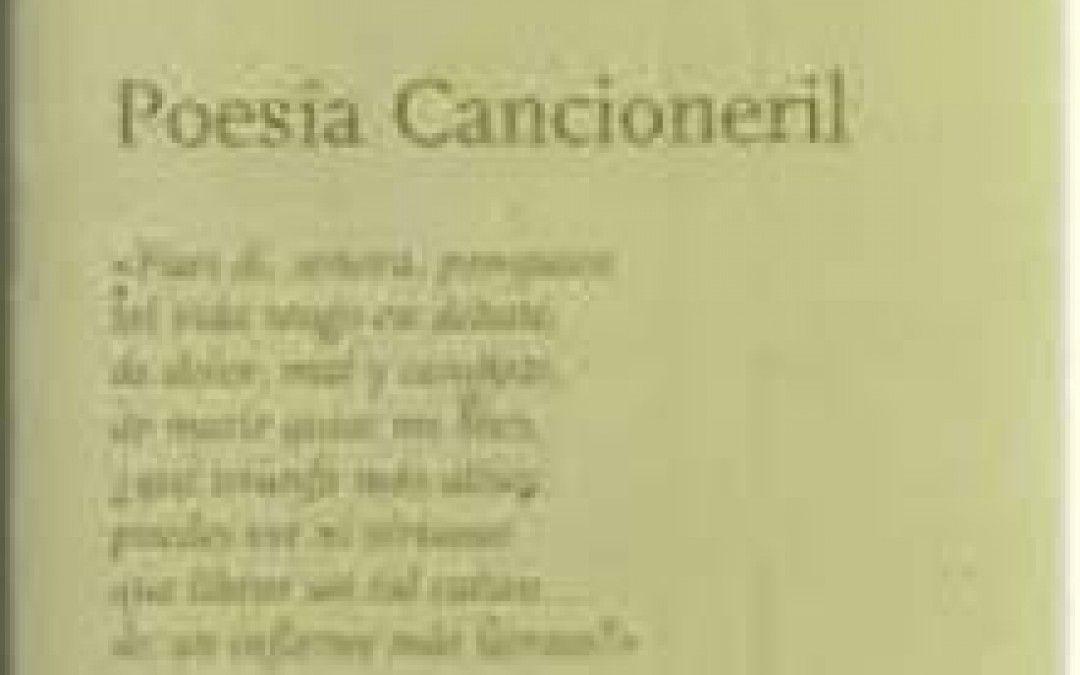 Poesía Cancioneril  #poesía #español