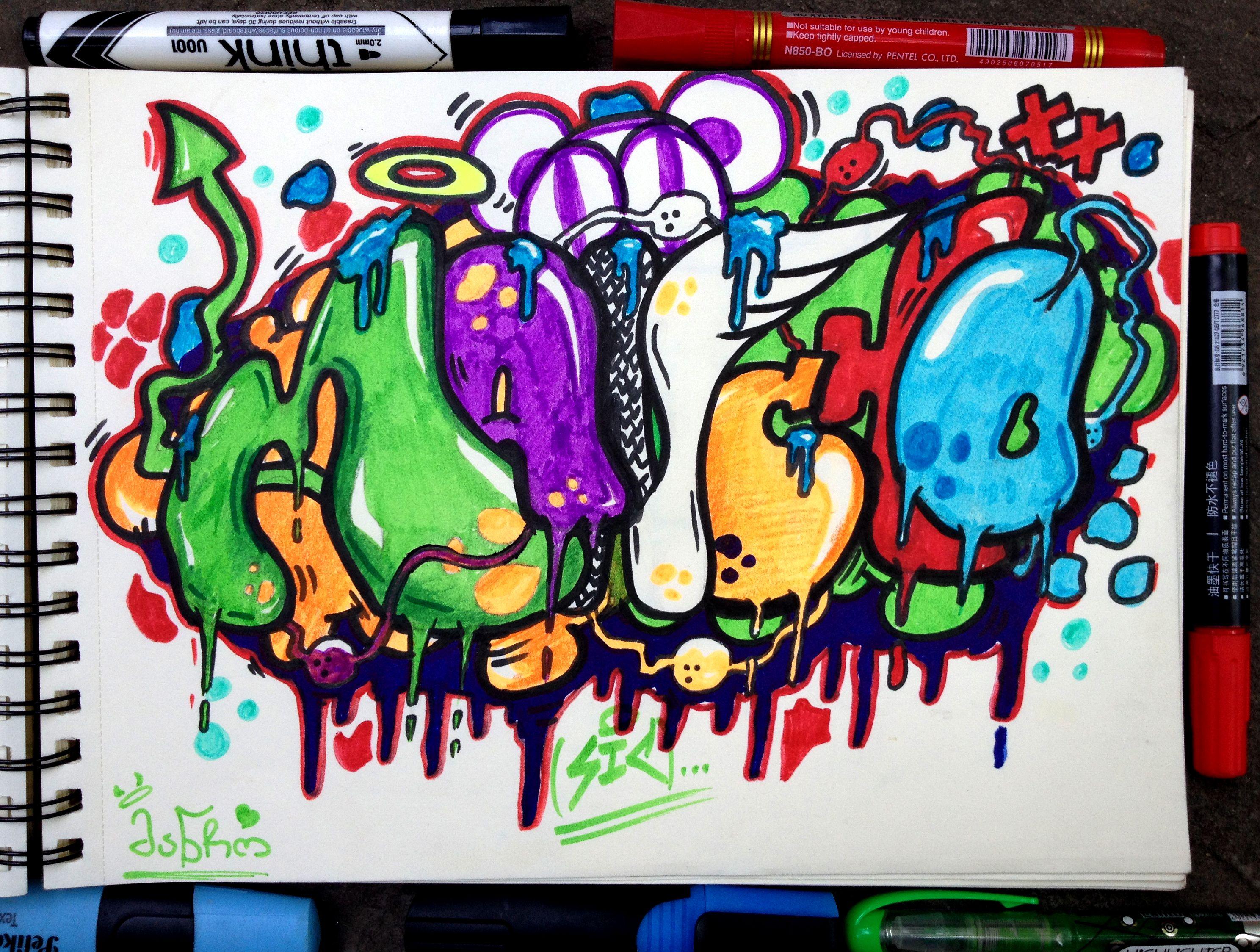 Pin de alejandrah ripoll en sketch pinterest letras - Diana de colores ...