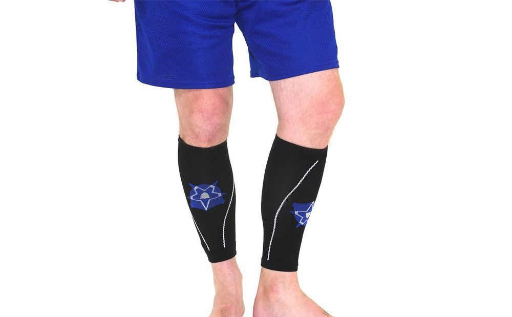 cdf2c5c538 Bitly Calf Compression Leg Sleeves - Helps Shin Splints & Promotes Recovery