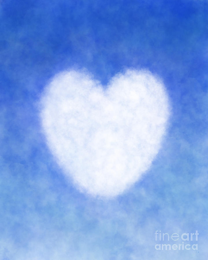 Pin By Lj Knight Art On Artsy In 2021 Light Blue Aesthetic Clouds White Heart