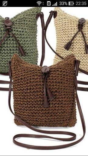 Bolsa de ganchillo – Salvabrani – #Crochet #Pouch #Salvabrani