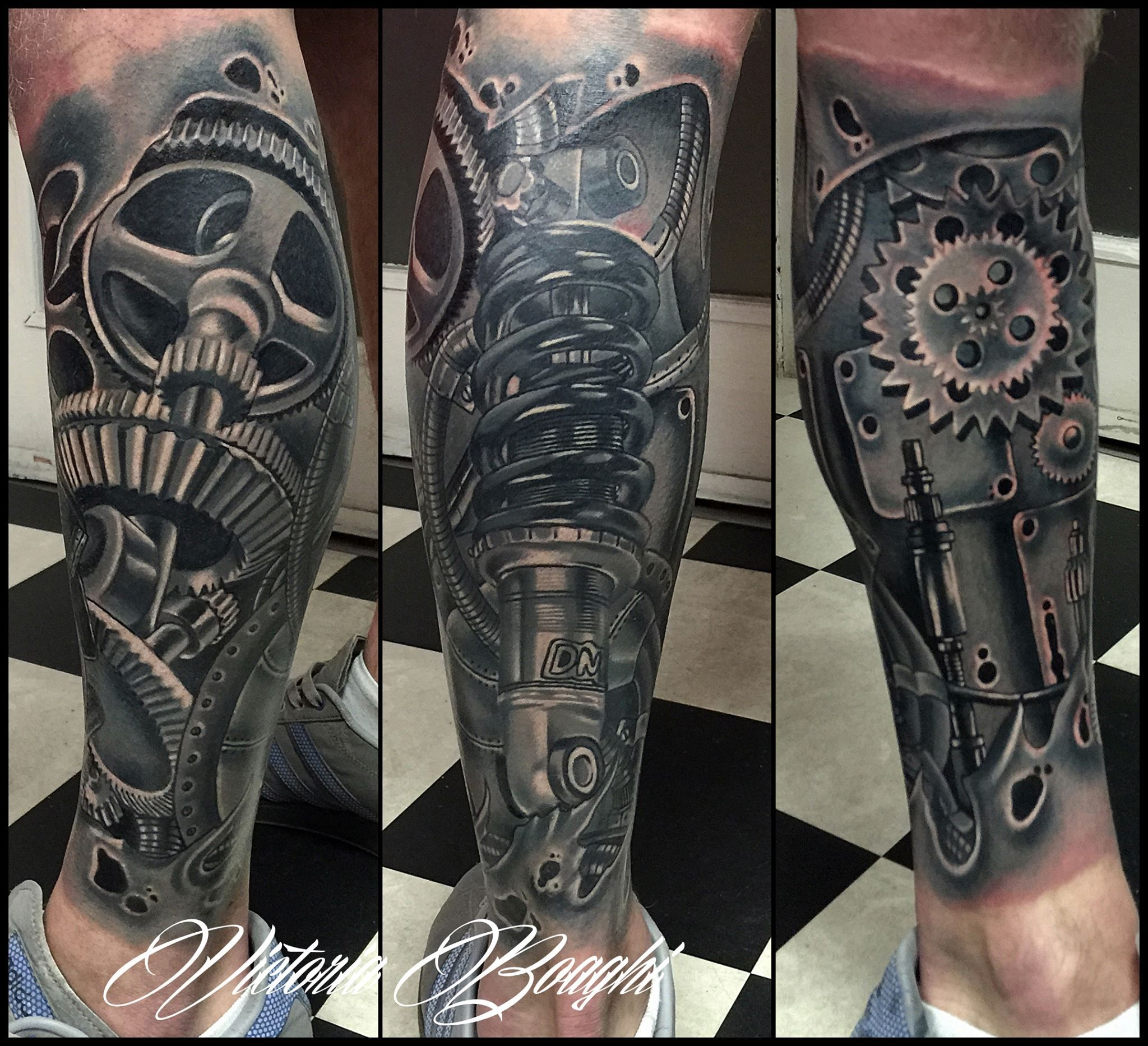 Biomech from Victoria Tattoo (With images) Biomechanical