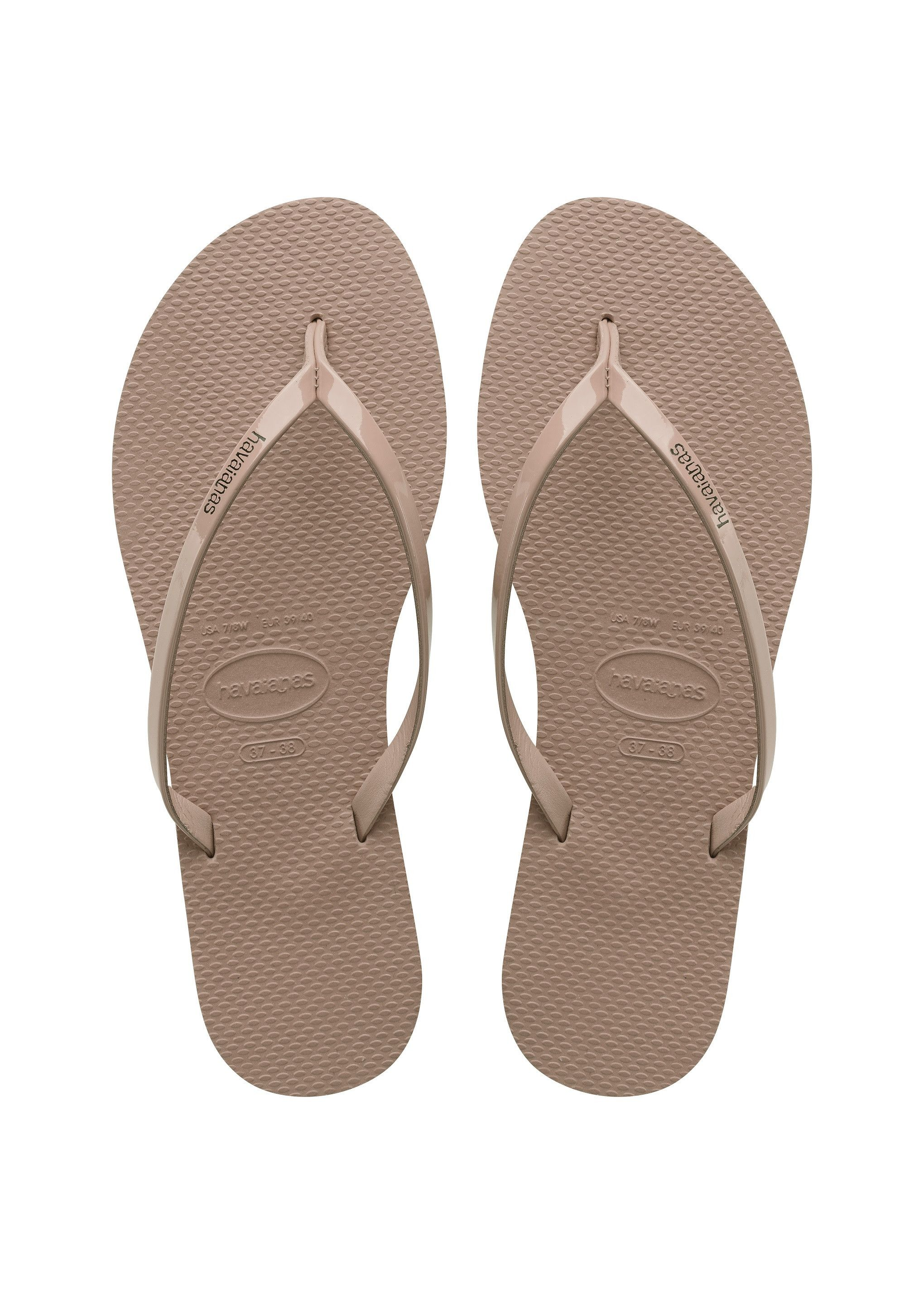 247253381805 Havaianas You Metallic Sandal Rose Gold Price From  £29.79