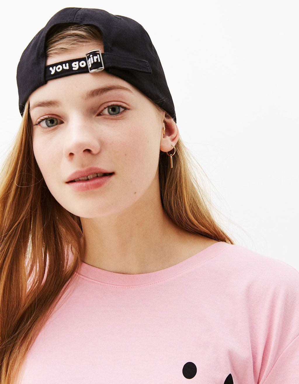 a727ee2a You go girl' slogan hat | Want to have | You go girl, Hats, Beanie