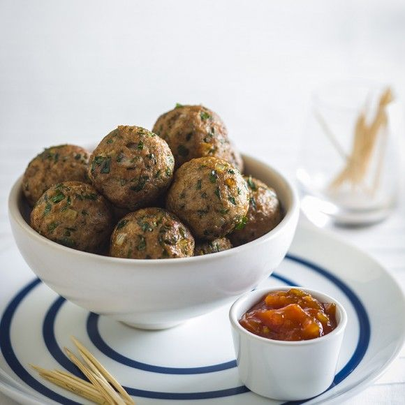 Herbed Turkey Balls | Recipe | Healthy turkey mince ...