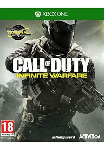Call Of Duty Infinite Warfare Xbox One With Zombies In Space And