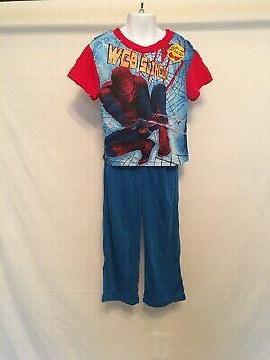 Spiderman boy's 2pc pajama set 4/5 (web slinger #marvel #movies #avengers