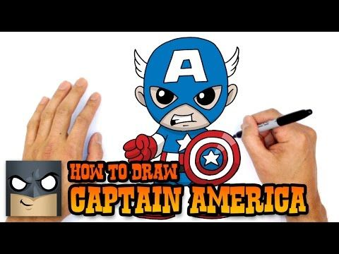 Comment Dessiner Captain America Kawaii Etape Par Etape Dessins