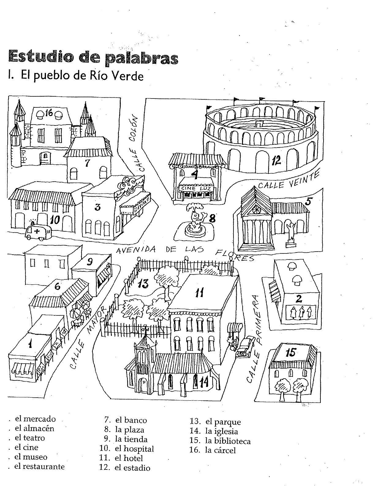 Image Result For Estudio De Palabras El Pueblo De Rio