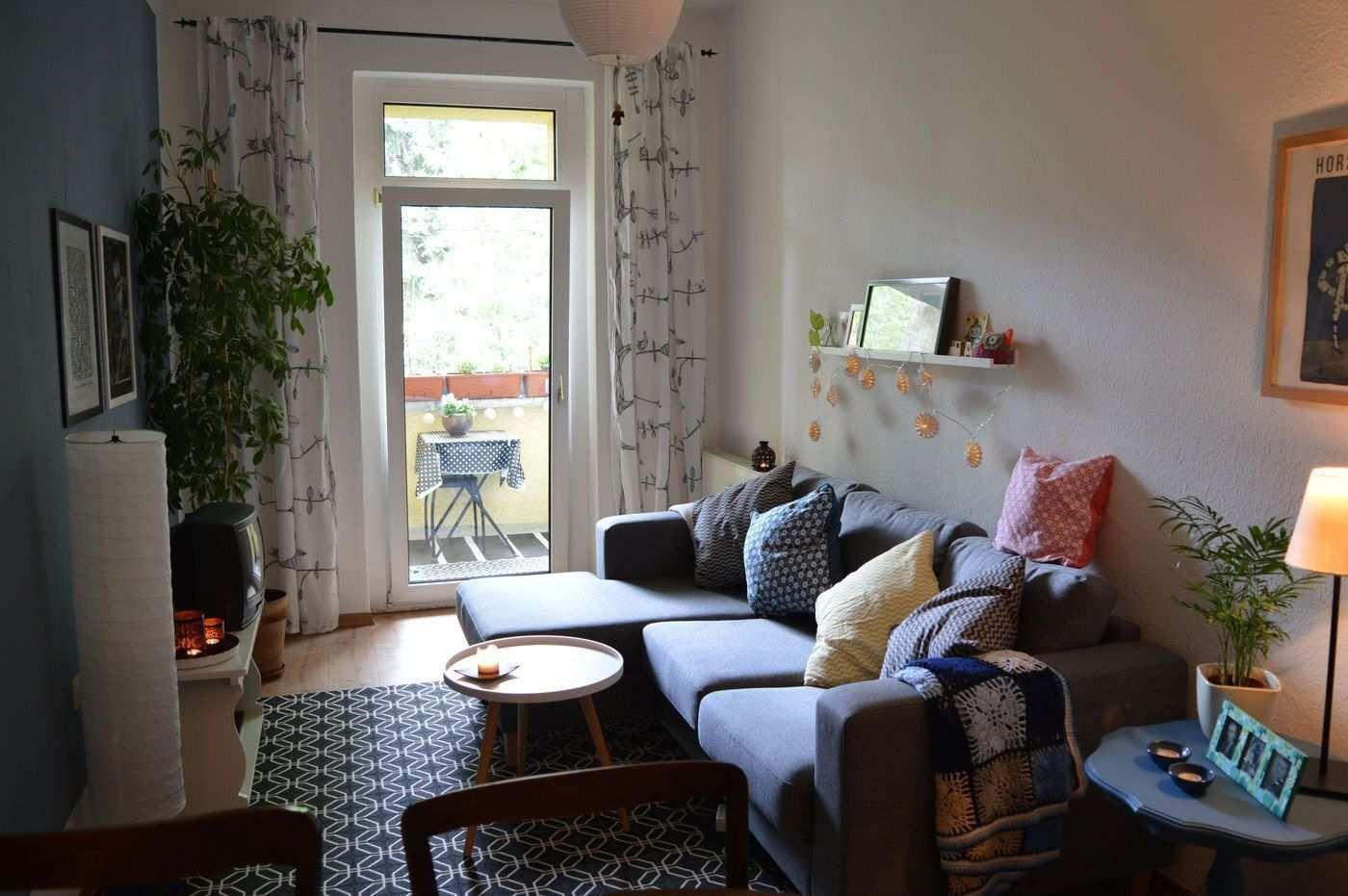 Kleine Wohnzimmer Gemütlich Einrichten