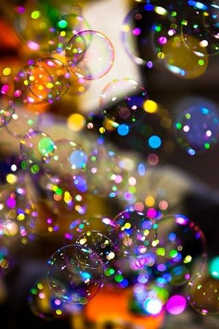 Fondos Lindos Bubbles Wallpaper Backgrounds Iphone Bokeh Photography Blowing
