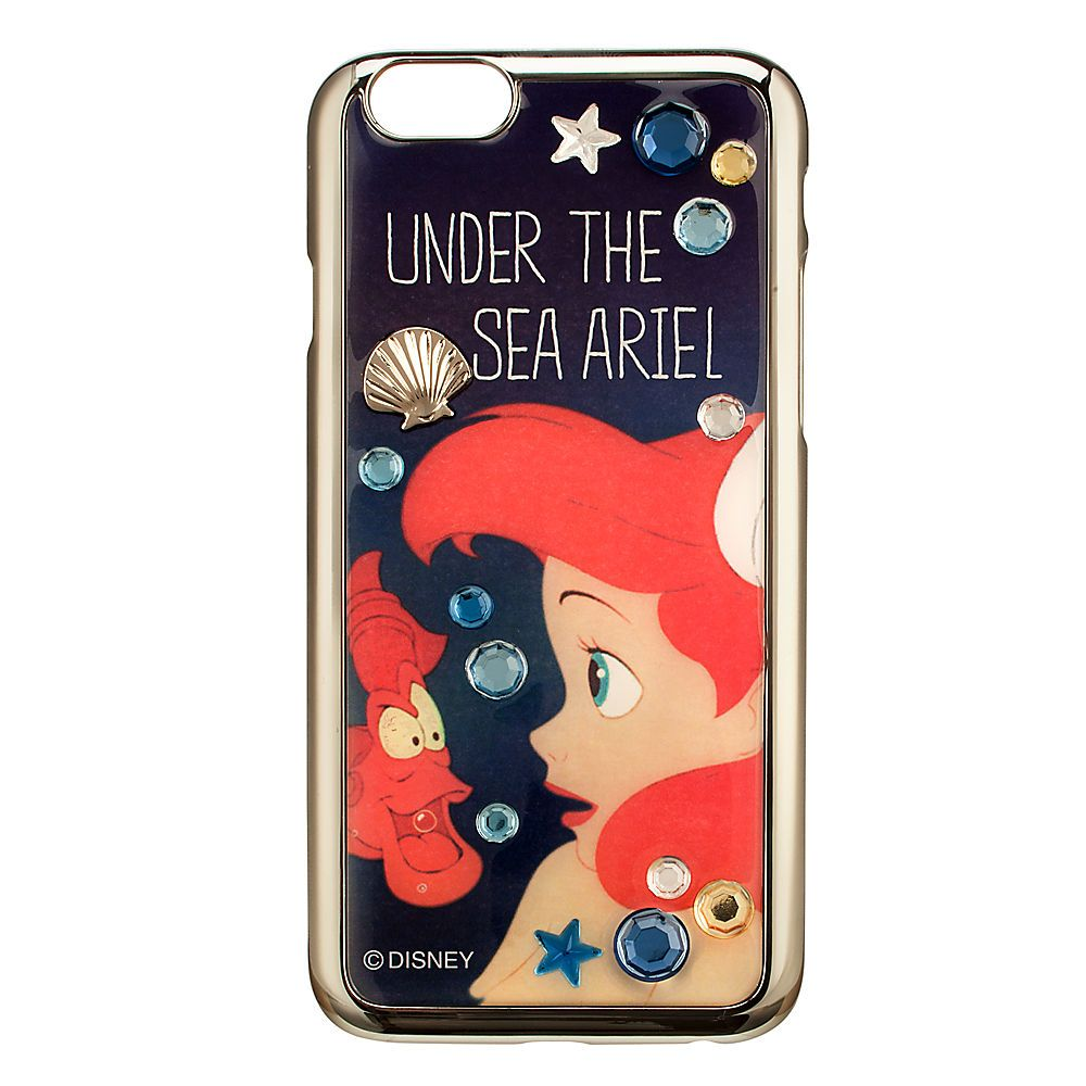 Ariel Jewel Iphone 6 Case From Disney Store For 24 95 Fundas