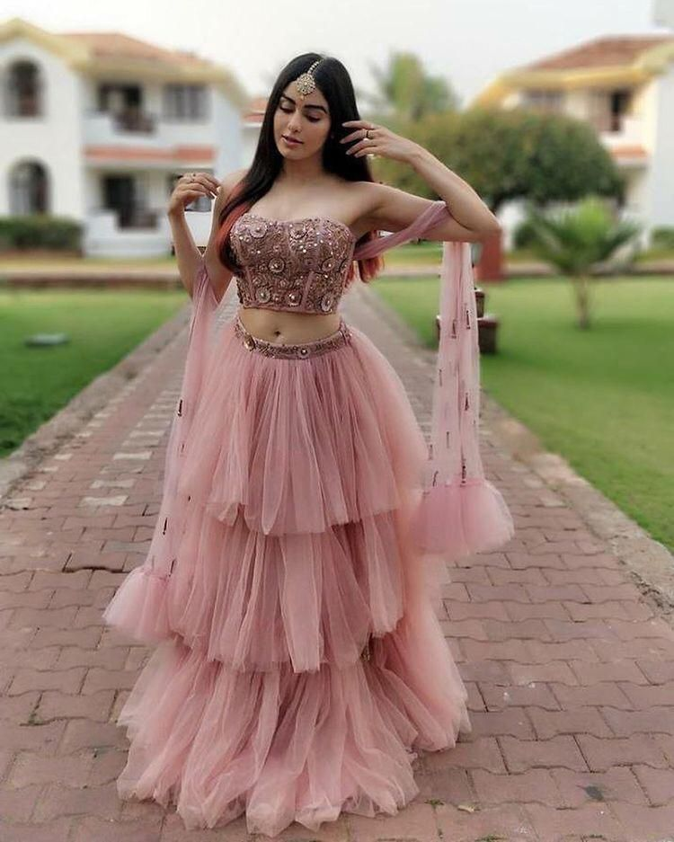 Trendy Net Lehenga Only On Lavender90 Wooplr Com Best Lehenga Online Stylish Dresses Party Wear Lehenga Indian Gowns Dresses