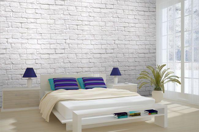 Best White Brick Wallpaper Bedroom Google Search White Brick Wall Living Room Brick Wall Living 400 x 300