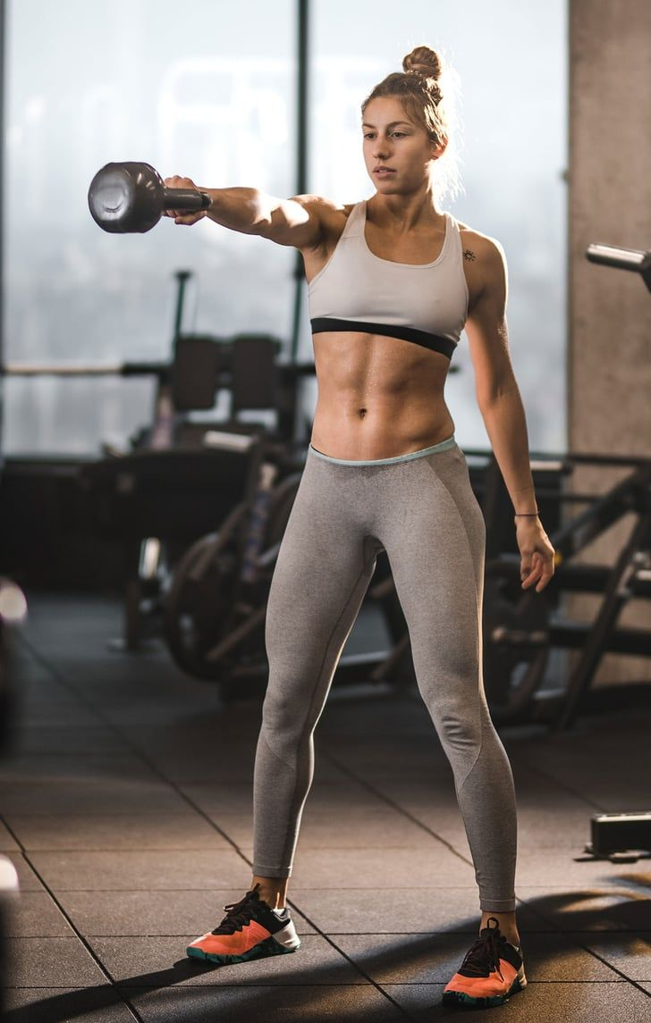 This Kettlebell Variation Is 1 of the Reasons My Arms and Butt Are So Strong