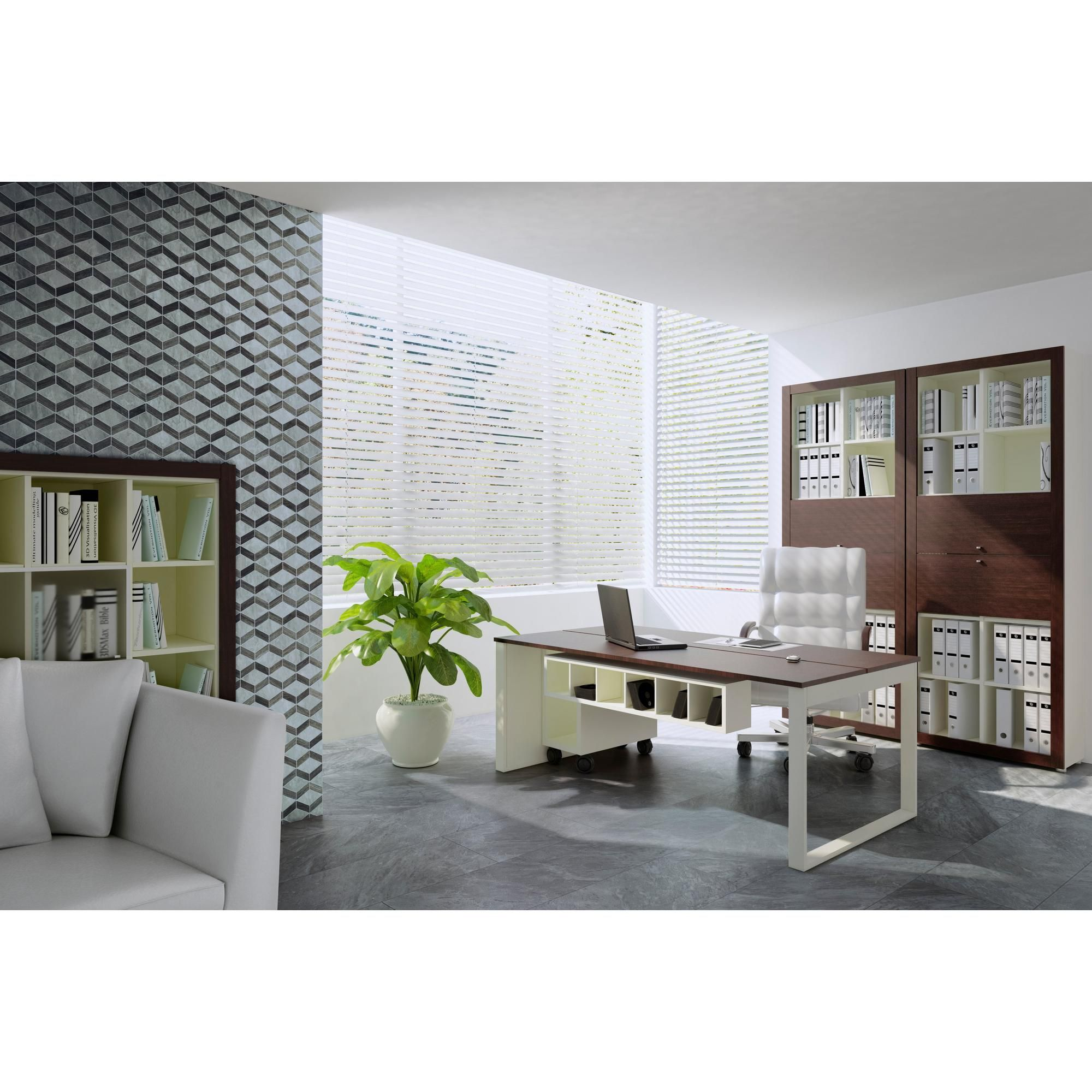 Carrara Blue Porcelain Tile Floor & Decor Interior
