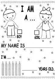 Free Exercises For Kindergarten In English Pdf With