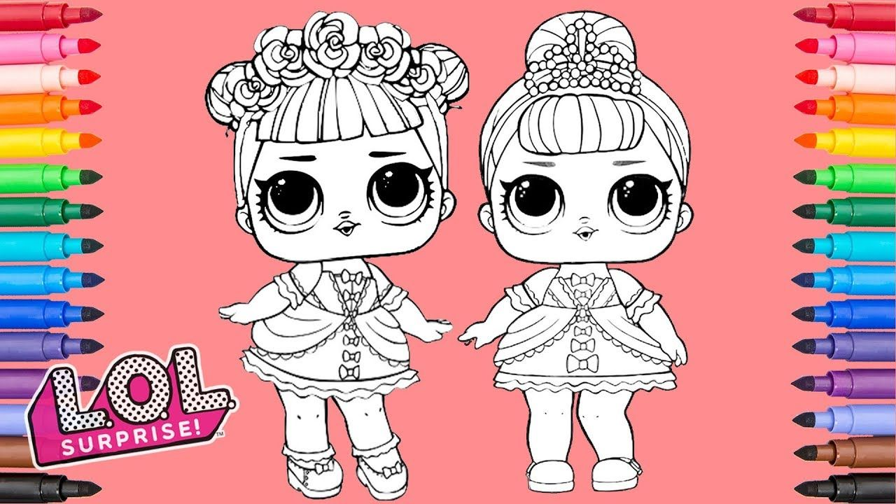 Lol Surprise Dolls Midnight And Fancy Coloring Pages Coloring Pages Coloring Books Printable Coloring