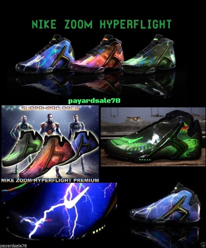 Men's nike zoom hyperflight prm super hero lebron kd kobe kevin durant  sneakers