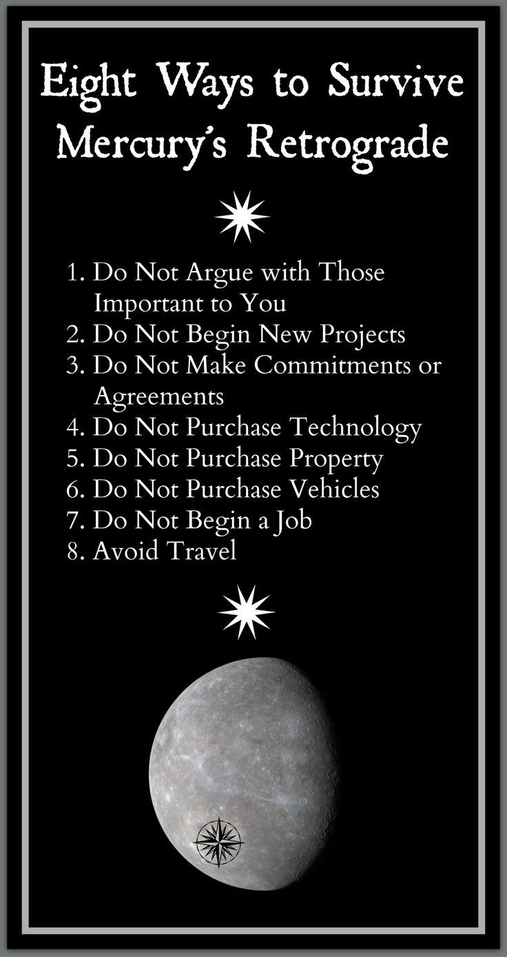 An article on eight simple ways to get through the retrograde of mercury retrograde survival tips nvjuhfo Gallery