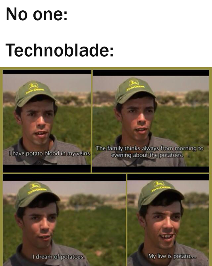 14 Of The Best Technoblade Memes From Our Reddit Meme Contest Know Your Meme In 2021 Dream Friends Minecraft Funny Memes