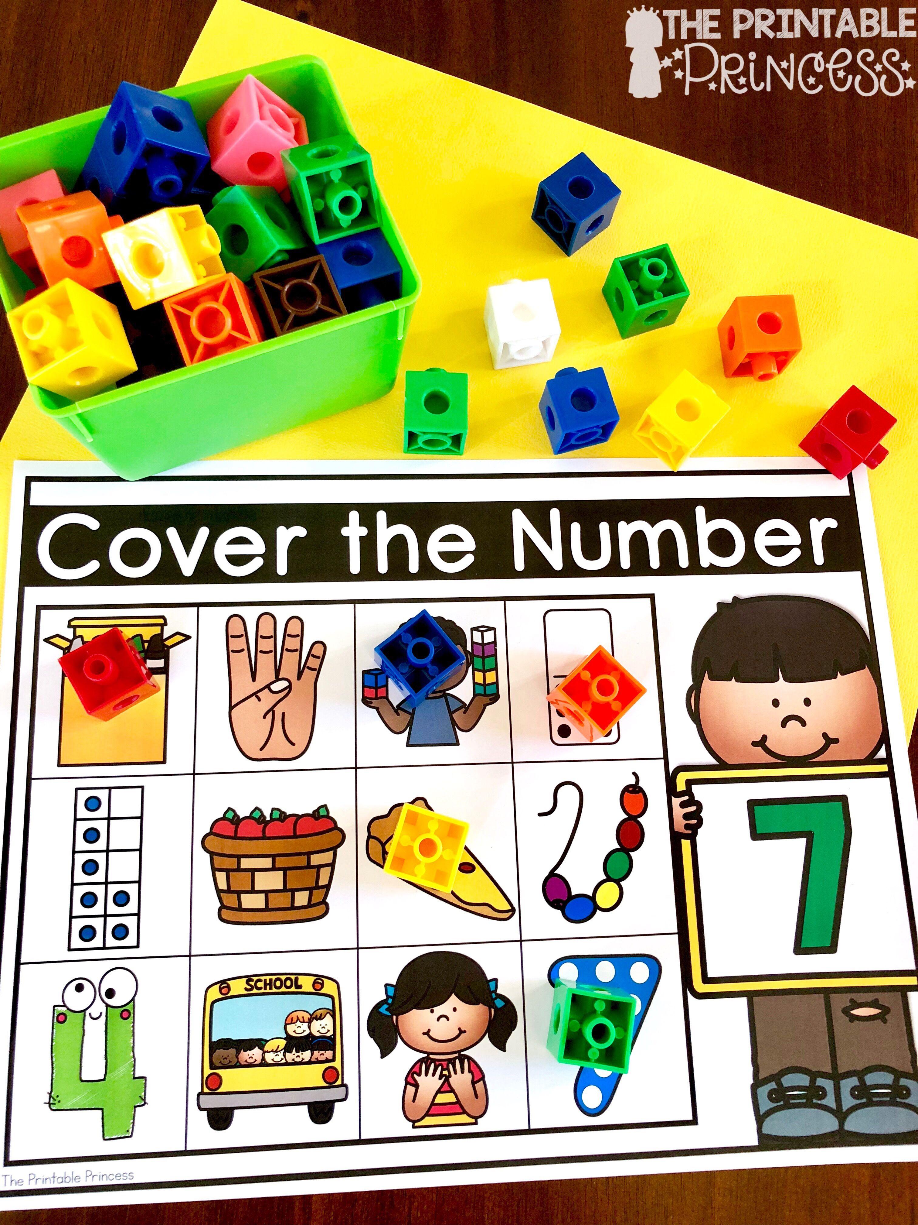 Kindergarten Math Numbers To 10 Numbers 1 10 Bundle