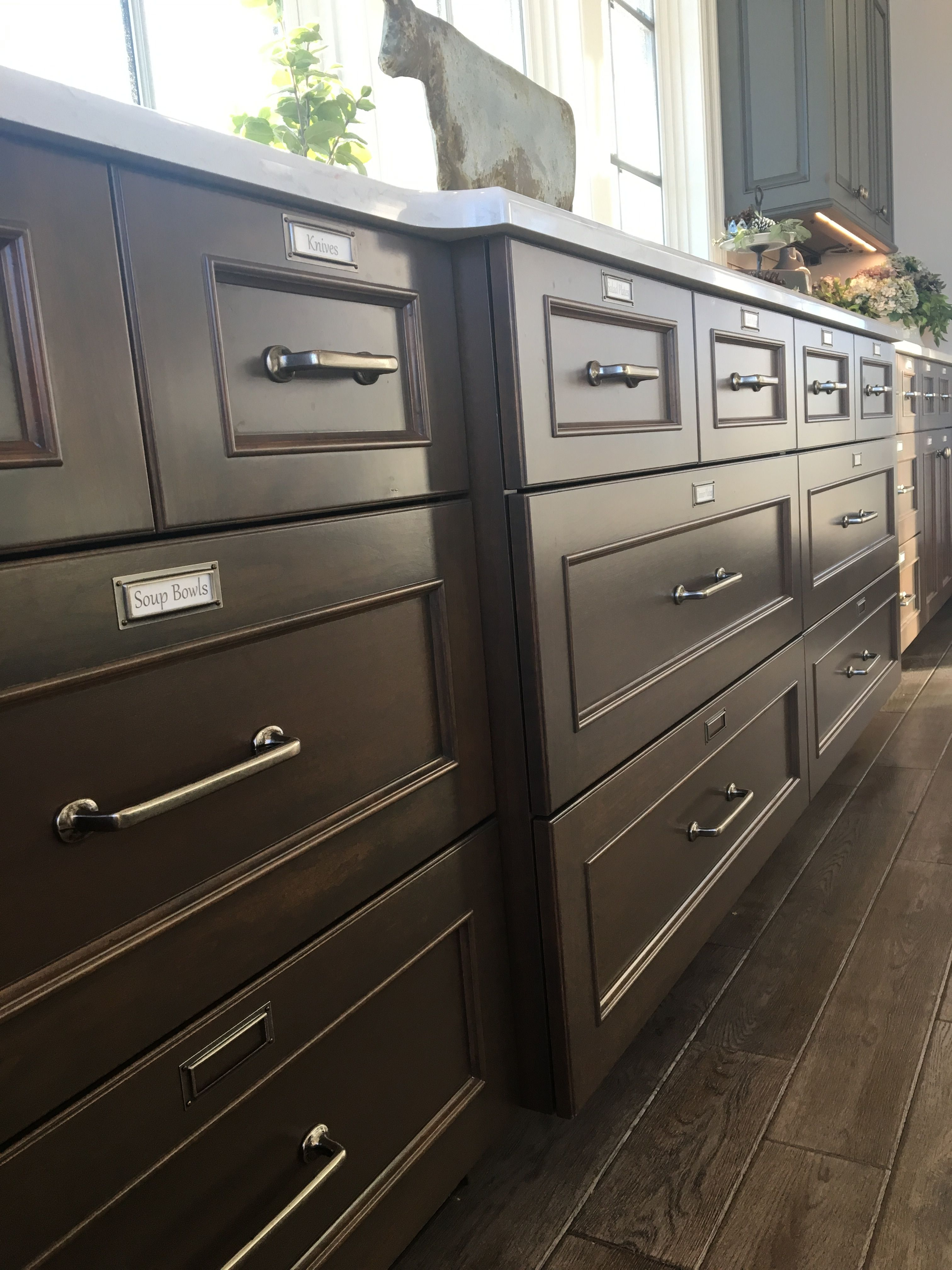 Cabinets With Labels Bathrooms Remodel Antique Dresser Home Decor