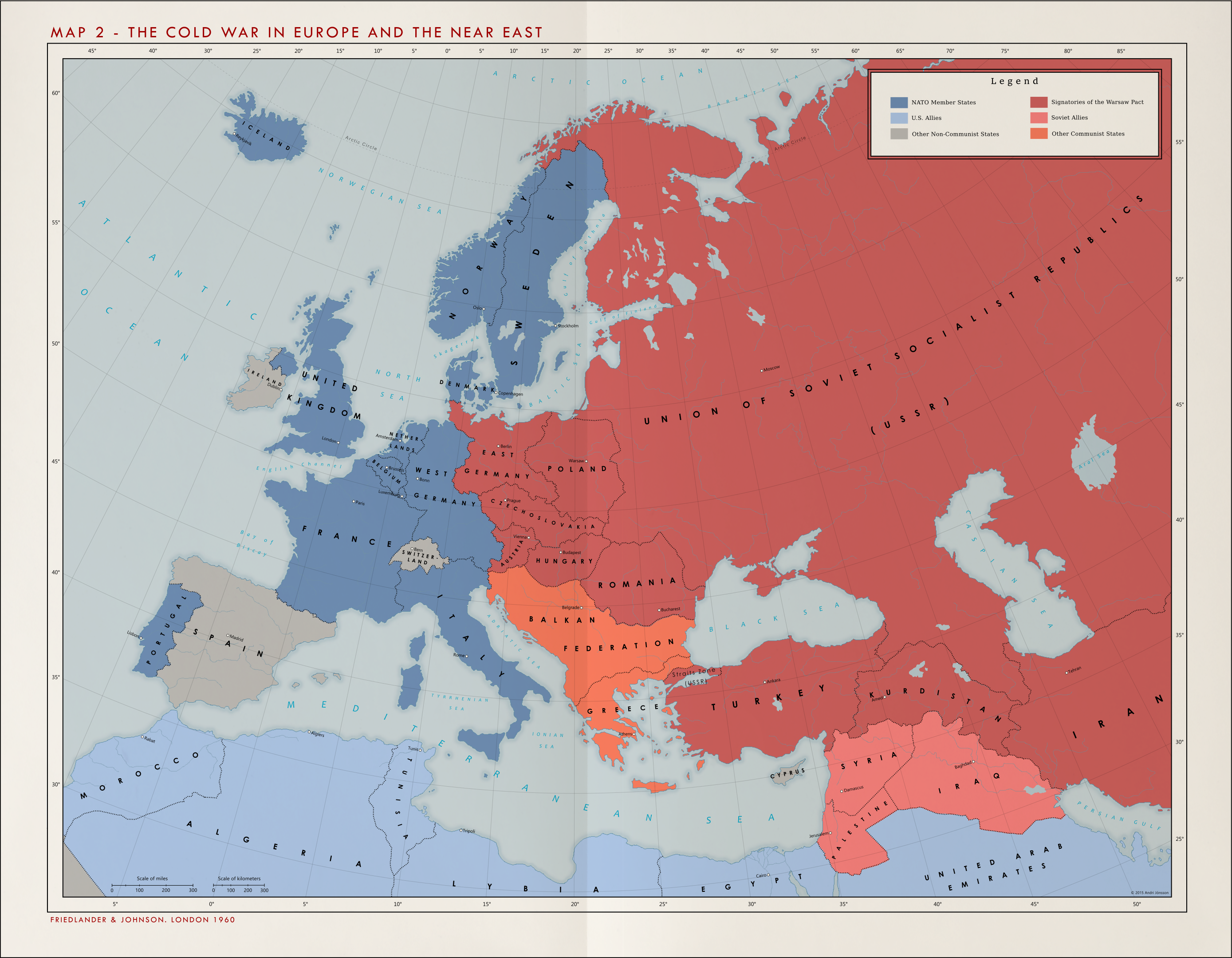 Alternate Cold War 1960 - Cold War in Europe | Alternative History ...