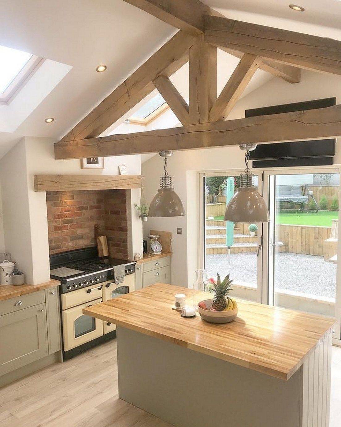 6 Stunning Farmhouse Kitchen Design Ideas  Keittiön sisustus