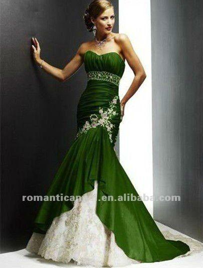 c29edda9f6 elegante soft cetim com laço bordado sereia verde limão vestidos de noiva- Vestidos   saias XL-ID do produto 657929128-portuguese.alibaba.com
