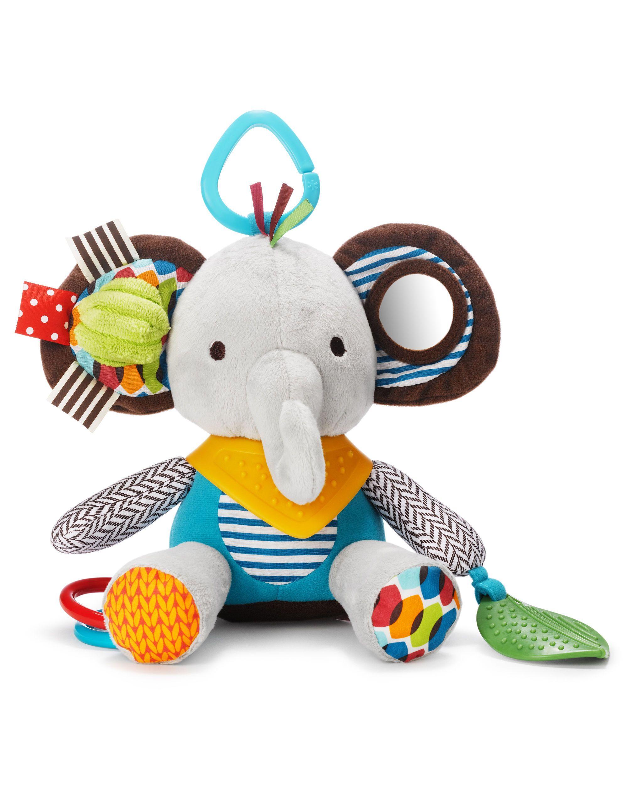 Bandana Buddies Activity Toy Elephant Plush Infant Activities Baby Toys