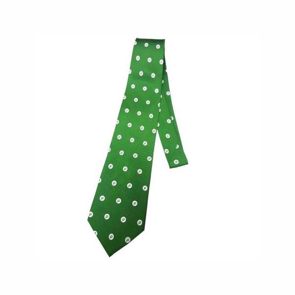 Green Publix Brand Mark Silk Tie Publix, Silk ties