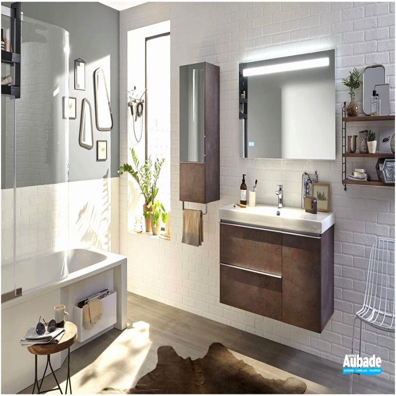 77 Meuble Double Vasque Salle De Bain 2019 Modern Bathroom Vanity Modern Bathroom Bathroom Mirror