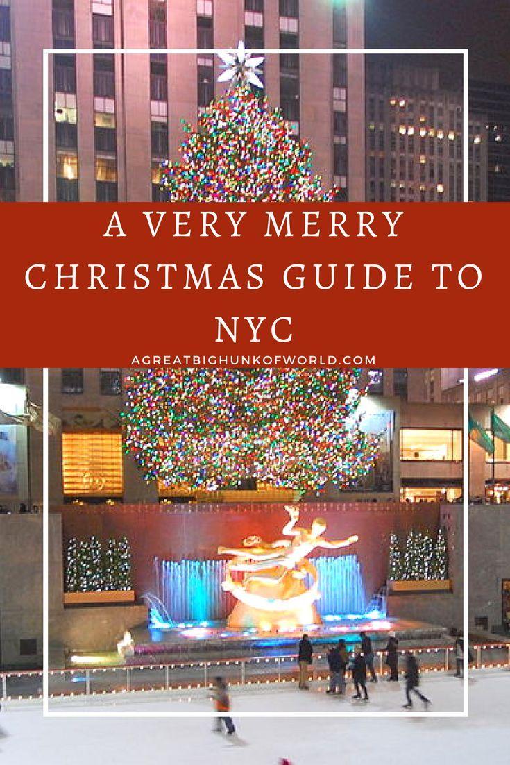 Ein sehr fröhlicher Weihnachtsführer für New York City   – The Northeast
