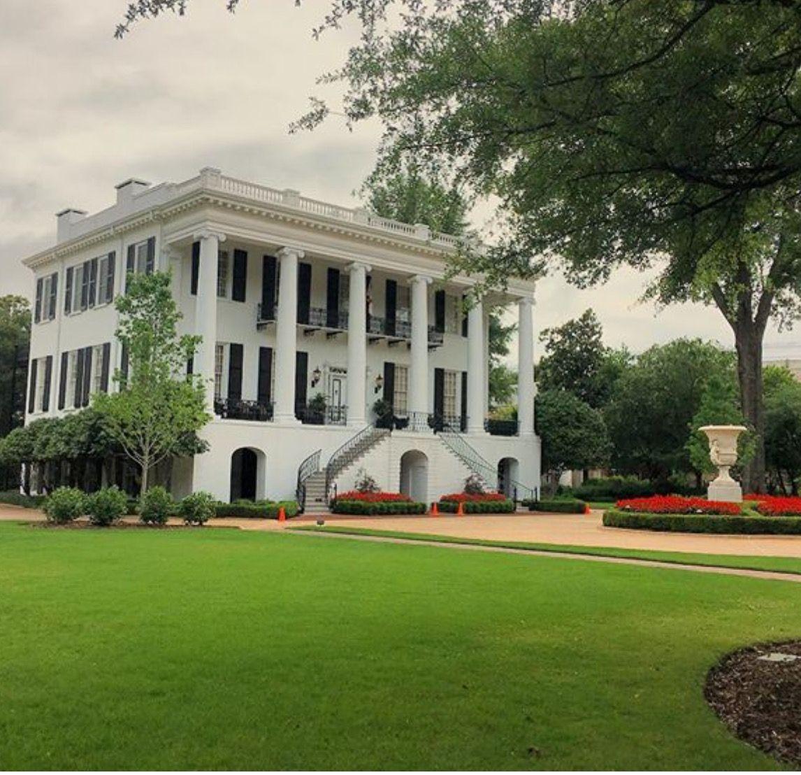 Presidents House University Of Alabama. Architecture