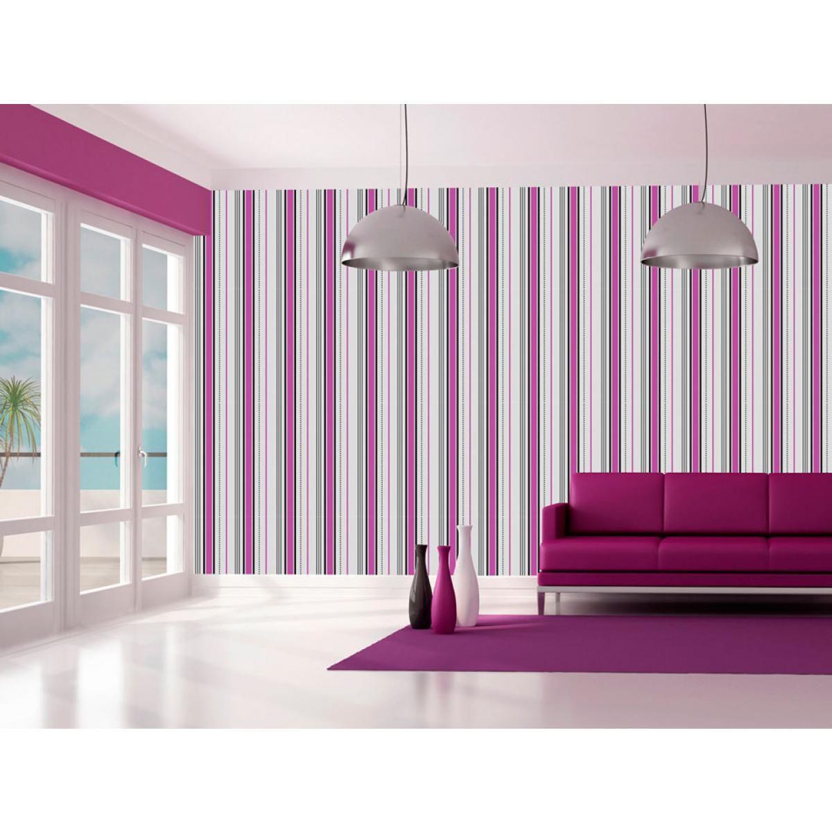 zu den klassischen und zeitlosen wanddekorationen z hlen sicherlich tapeten mit streifen. Black Bedroom Furniture Sets. Home Design Ideas