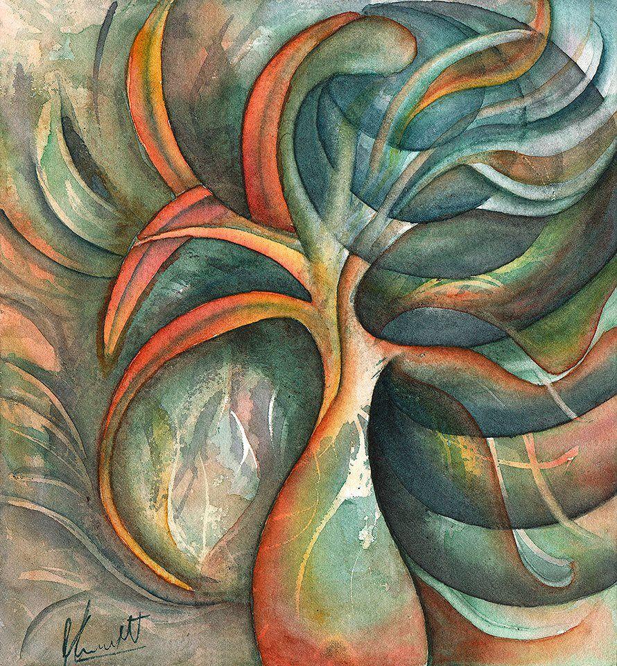 Confesiones del viento - Autor: Karen Fridblatt — en Taller de acuarela TantaTinta.
