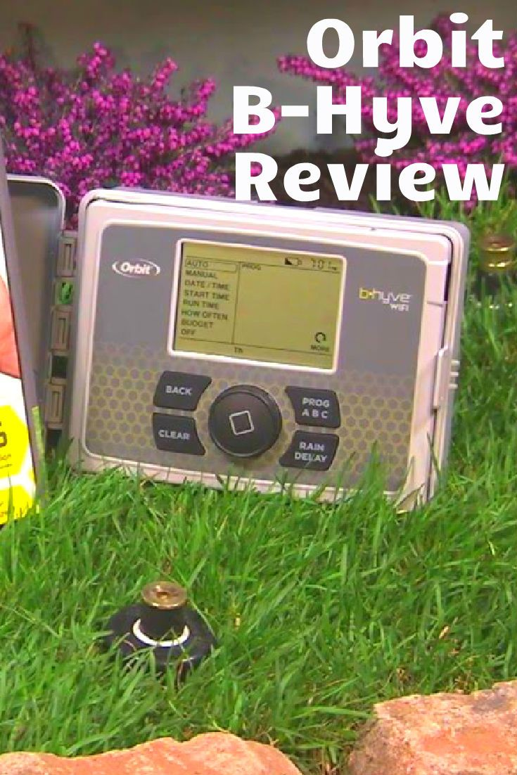 Orbit B Hyve Review Does This Smart Sprinkler Do Enough Orbit Sprinkler System Computer Skins Orbit