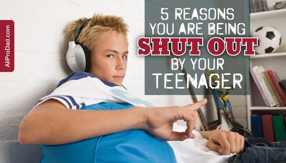 Being shut out by a teenager is a painful experience. Here's some insight into why you are being shut out by your teenager and advice to work your way back into their lives.